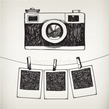 depositphotos_79718626-stock-illustration-photo-frames-and-camera